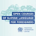 New cycle of the Open Courses of Slovak language – starting on 14 May 2019 in Bratislava and Košice