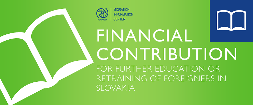 Financial support for education!Do you want to increase your qualification? Now you can receive a financial support for education or retraining course. More information about eligibility and conditions here.